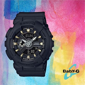 BABY-G 베이비지 BA-110GA-1A 우레탄 밴드 여성시계