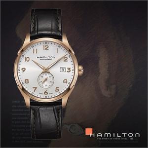 HAMILTON 해밀턴 H42575513 남성 가죽밴드 패션시계