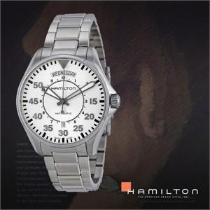 HAMILTON 해밀턴 H64615155 남성 메탈밴드 패션시계