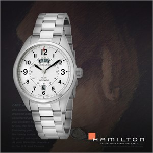 HAMILTON 해밀턴 H70505153 남성 메탈밴드 패션시계