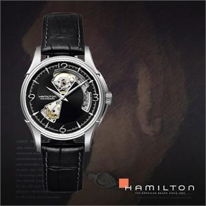 HAMILTON 해밀턴 H32565735 남성 가죽밴드 패션시계