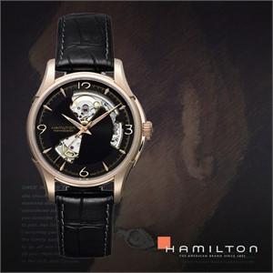 HAMILTON 해밀턴 H32575735 남성 가죽밴드 패션시계