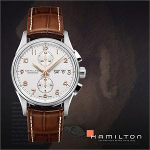 HAMILTON 해밀턴 H32576515 남성 가죽밴드 패션시계