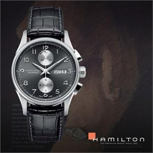 HAMILTON 해밀턴 H32576785 남성 가죽밴드 패션시계