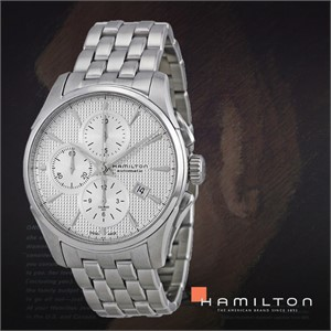 HAMILTON 해밀턴 H32596151 남성 메탈밴드 패션시계