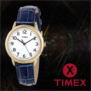 TIMEX 타이맥스 T2N954 여성 가죽밴드 패션시계