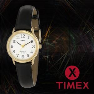 TIMEX 타이맥스 T20433 여성 가죽밴드 패션시계