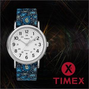 TIMEX 타이맥스 TW2P81100 여성 나토밴드 패션시계