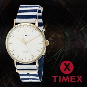 TIMEX 타이맥스 TW2P91900 여성 나토밴드 패션시계