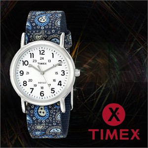 TIMEX 타이맥스 TW2P74200 여성 나토밴드 패션시계