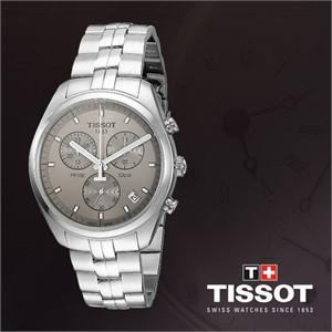 TISSOT 티쏘 T101.417.11.071.00 남성 메탈밴드시계