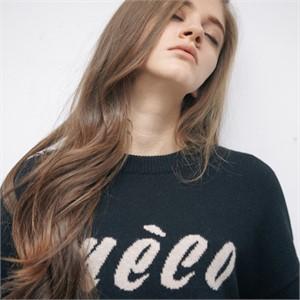 [모노소윙] Meco Logo Knit (Black)