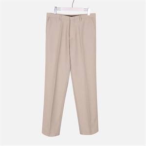 [모노소윙] Solid Wide Trouser (Light Beige)