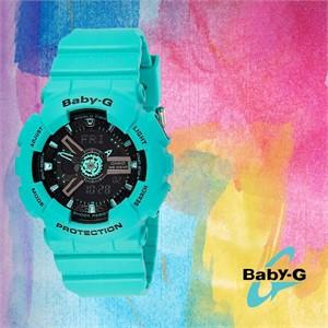 Baby-G 베이비 지BA-111-3ADR여성용 우레탄 시계