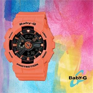 Baby-G 베이비 지BA-111-4A2DR여성용 우레탄 시계
