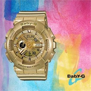 Baby-G 베이비 지BA-111-9ADR여성용 우레탄 시계