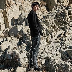 [프롬더예스터데이]COTTON PANTS WITH RAW EDGES DETAIL charcoal