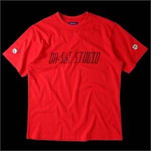 [테뉴] O.S.S GLITTER T-SHIRTS-RED