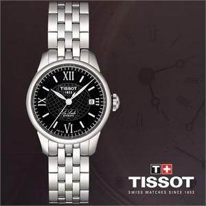 티쏘 T41.1.183.53 르로끌 오토매틱 여성용메탈시계
