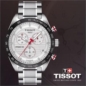 티쏘 T100.417.11.031.00 PRS516 남성용메탈시계