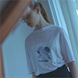 [고즈넉] 드레이프 티셔츠