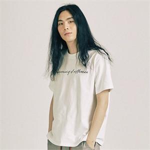 [프롬더예스터데이]언더스탠딩 하프 티셔츠 화이트