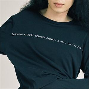 [프롬더예스터데이]핑거 홀 롱 슬리브 시셔츠 블랙