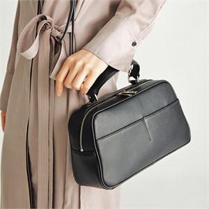 [조니조니] Bowling Bag M_Black