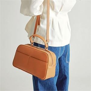 [조니조니] Bowling Bag M_Camel