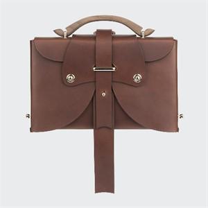 [보울하우스]Owl Gong Back Pack, Classy Brown