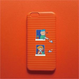 [쎄쎄쎄] 쎄쎄쎄 창문오렌지 핸드폰케이스