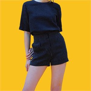[쎄쎄쎄] 스트라이프숏팬츠 / stripe short pants