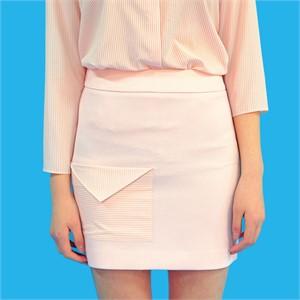 [쎄쎄쎄] envelope pocket skirt/편지봉투 주머니 미니스커트