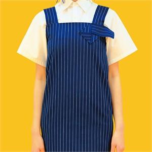 [쎄쎄쎄] 쪽지 디테일 데님 롱 원피스 / denim long dress