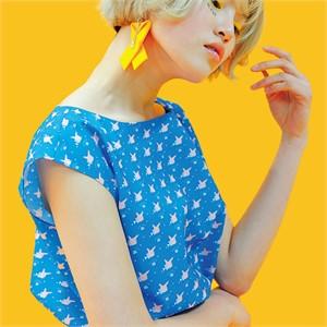 [쎄쎄쎄] 프린팅 민소매 블라우스 / a sleeveless shirt