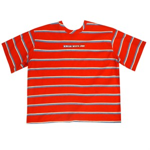 [곽현주컬렉션] [젯콜리코] RED STRIPE T-SHIRTS
