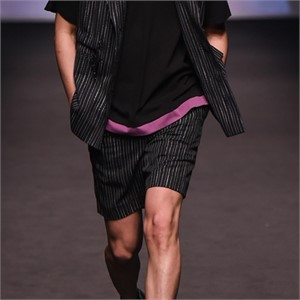 [네스티해빗] 18SS_BLACK STRIPE PANTS