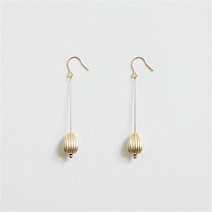 [비베] Oval Drop Earing