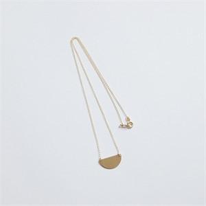 [비베] Semicircle Necklace