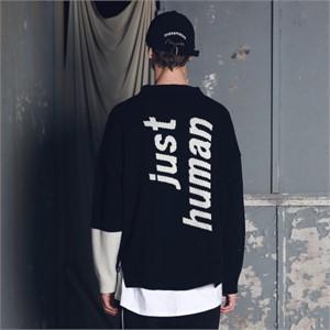 [매스노운] 램스울 인시젼 오버핏 니트 MFENT001-BK