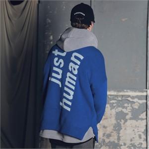 [매스노운] 램스울 인시젼 오버핏 니트 MFENT001-BL