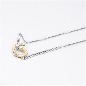 [마이믹스드디자인]M.M.D [마이믹스드디자인]Double ring chain necklace