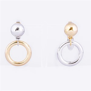 [마이믹스드디자인]M.M.D [마이믹스드디자인]Mini bold ring earrings