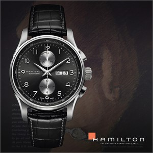 HAMILTON 해밀턴 H32766783 남성 가죽밴드 손목시계