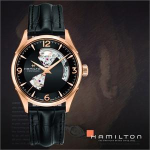HAMILTON 해밀턴 H32735731 남성 가죽밴드 손목시계