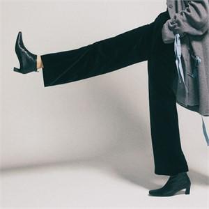 [꼼므지] Basic Ankle Boots / CG1030BK