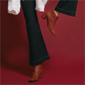[꼼므지] Basic Ankle Boots / CG1030BR