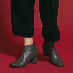 [꼼므지] Basic Ankle Boots / CG1030GR