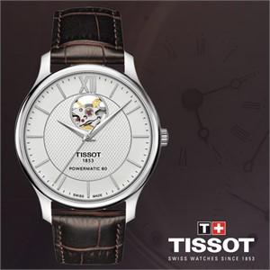 티쏘 T063.907.16.038.00 남성시계 가죽밴드손목시계