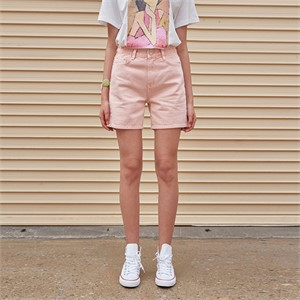 [YAN13] PALETTE COTTON SHORTS_PINK